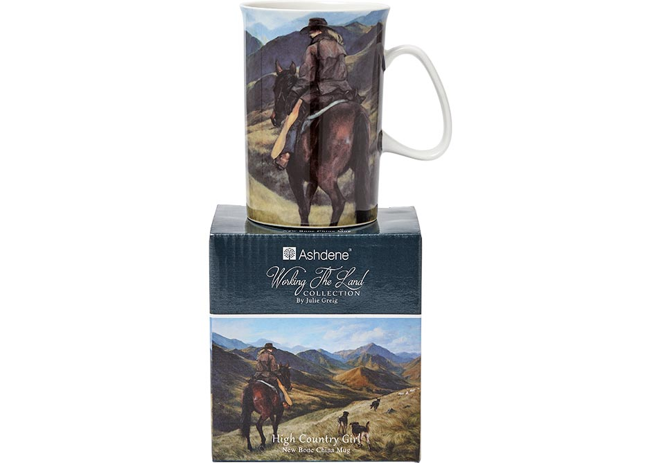 ASHDENE Working the Land High Country Girl Mug