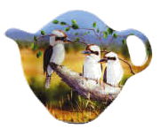 ASHDENE Tea Bag Holder Kookaburras