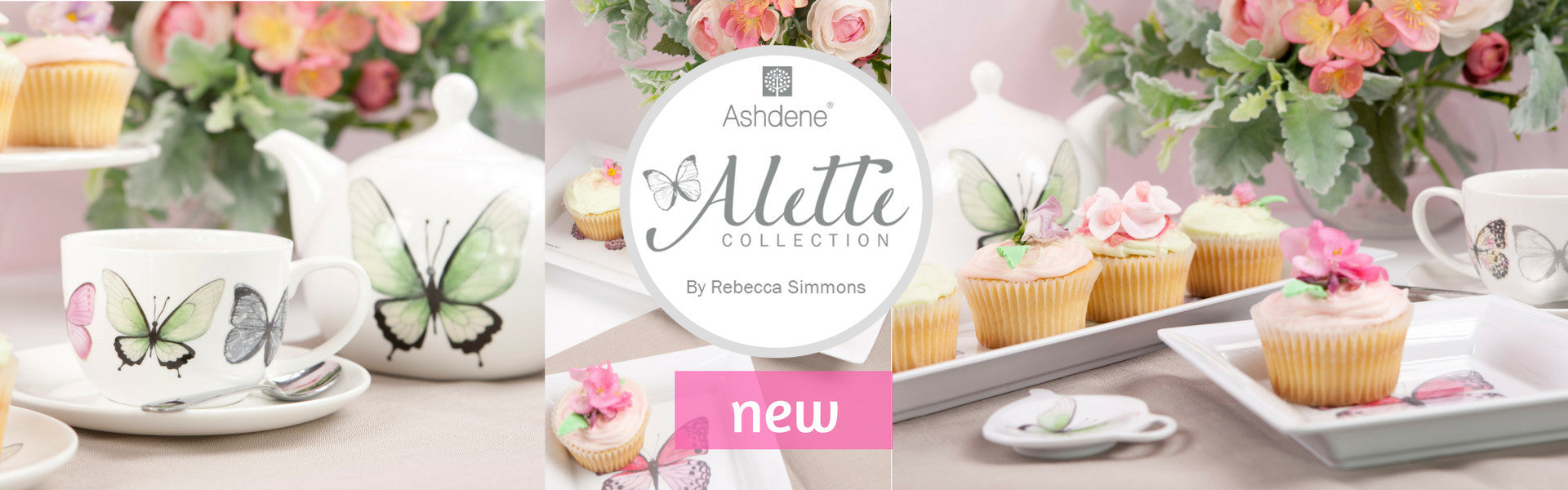 Ashdene Charlotte high tea china