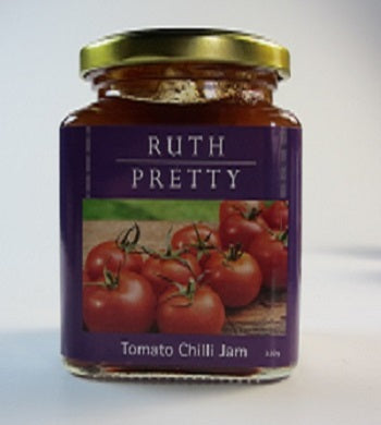 """Ruth Pretty Catering - Jams, Jellies and Chutneys - Ruth Pretty Foods - Tomato Chilli Jam - Great Gifts - Gourmet Hampers"""