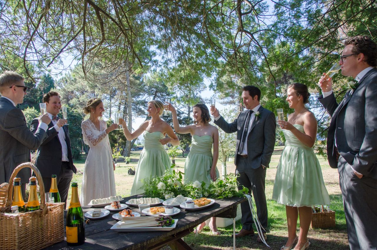 Lucy at the lake, in lace – Ruth Pretty Catering