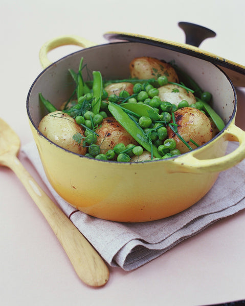 Herbed New Potatoes and Pea Salad