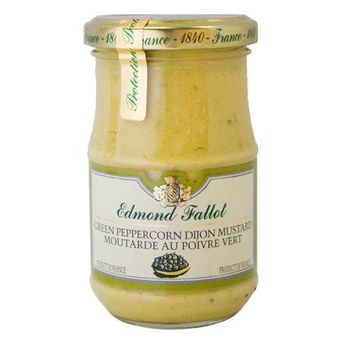 Fallot Green Peppercorn Mustard