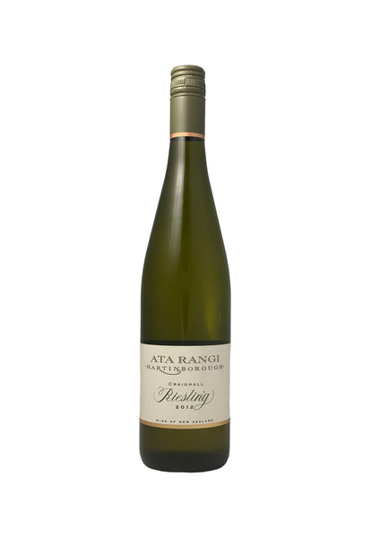 Ata Rangi 2012 Craighall Martinborough Riesling