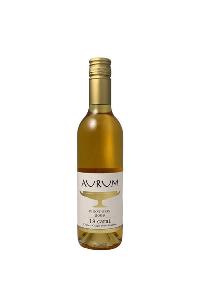 Aurum 18 Carat 2009 Central Otago Late Pick Pinot Gris (P)