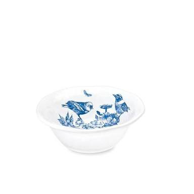Michel Design Works Indigo Cotton Melamine Platters & Bowls