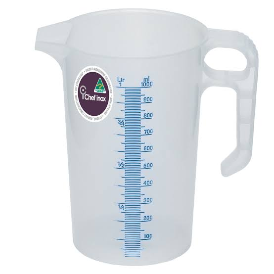Plastic Thermo Measuring Jug 1L