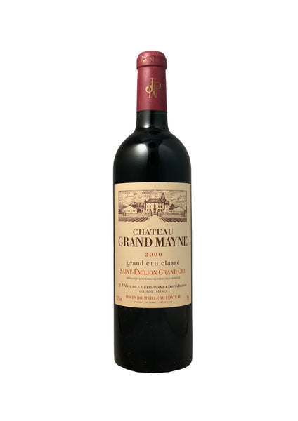 Chateau 2000 Grand Mayne Saint Emilion