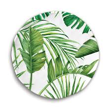 Flamingo Palm Plate Single