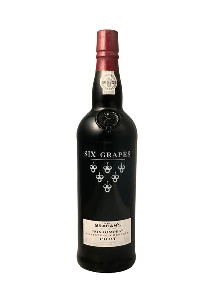 Grahams Six Grapes Unfiltered Reserve NV Port