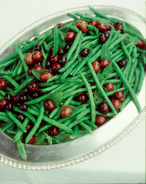 Green Bean, Black Olive and Mint Salad