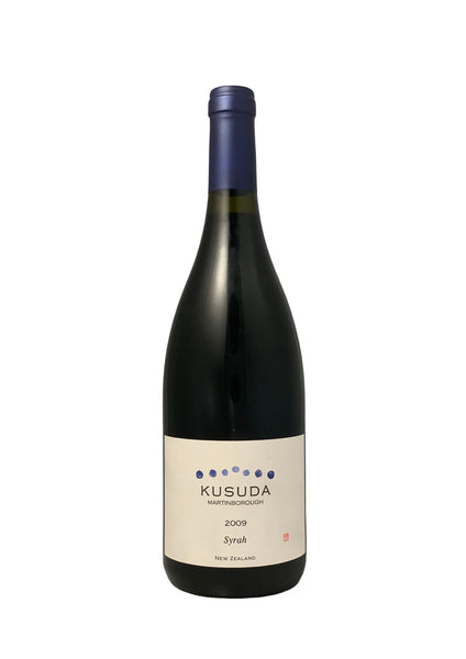 Kusuda 2009 Martinborough Syrah