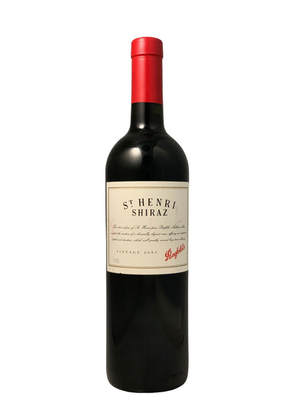 Penfolds 2001 St Henri South Australia Shiraz