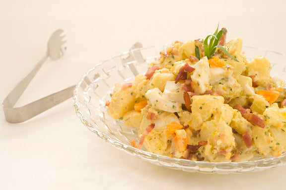 Potato, Bacon and Egg Salad with French Tarragon Mayonnaise