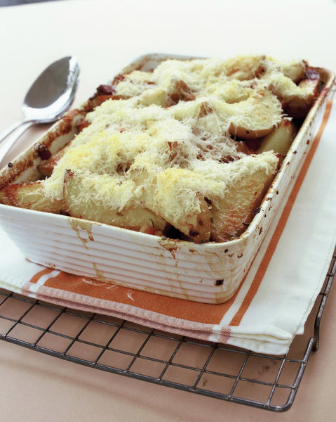 Potato and Pancetta Gratin