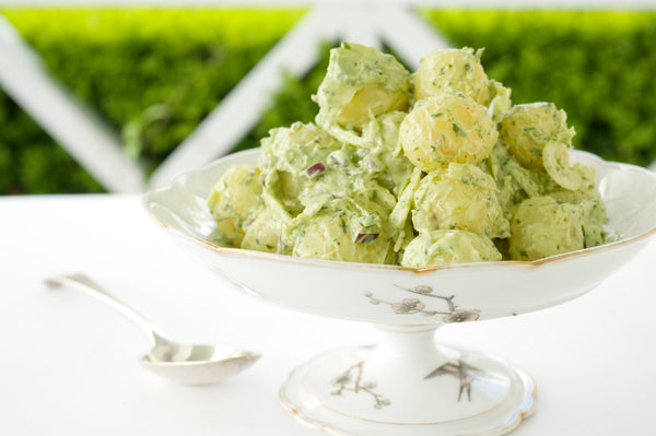 Potato Salad with Green Goddess Dressing
