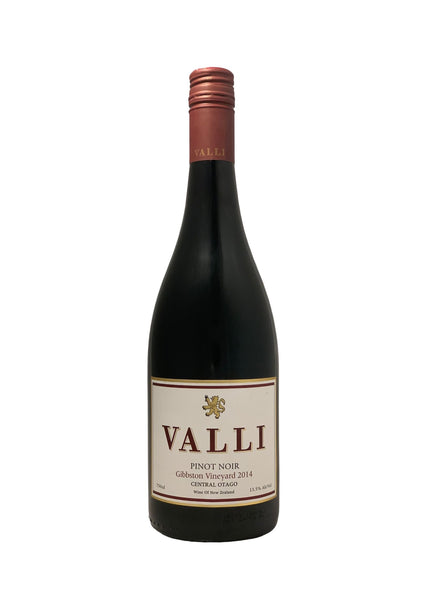 Valli Gibbston Valley 2014 Central Otago Pinot Noir