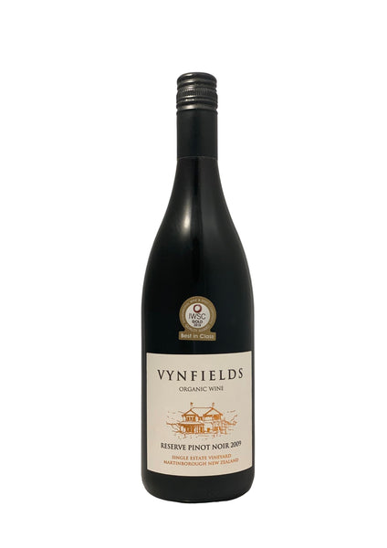 Vynfields 2009 Reserve Martinborough Pinot Noir