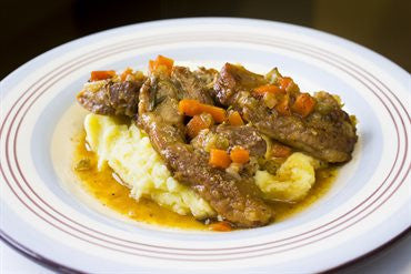 Braised Pork Spareribs with Apple