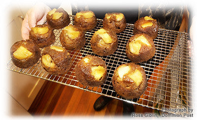 CARAMELISED PEAR BREAKFAST CAKES