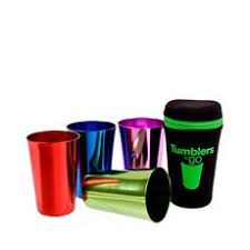 Tumblers To Go with Tote Bag