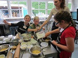 Kids in the Kitchen Part 7, Au Chocolat Oh La La