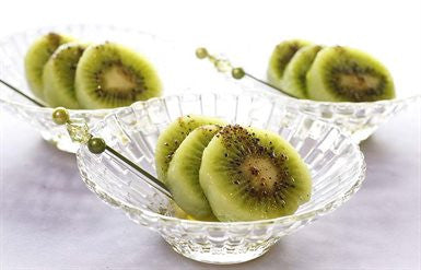 Kiwifruit with Roasted Szechuan Pepper Salt