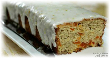 LEMON DRIZZLE FOR ORANGE AND APRICOT CAKE