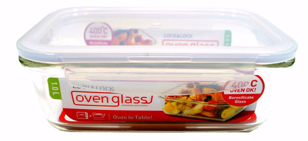 Glass Oven Lock Container - Small