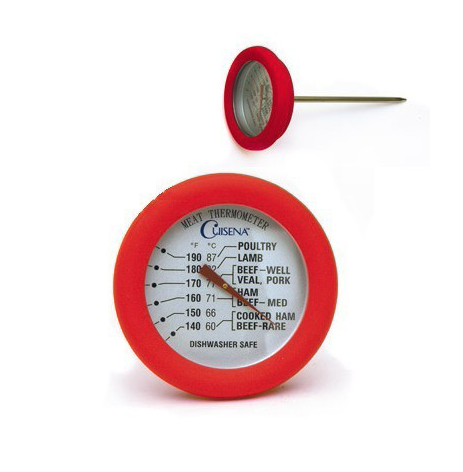 Meat Thermometer w/ Silicone