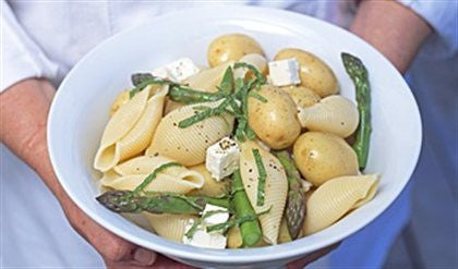 Minted Summer Pasta and Potatoes