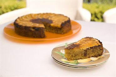 Orange, Macadamia and Christmas Fruit Mince Cake