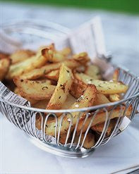 Potato Wedges with Oregano
