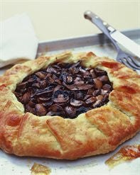 Roasted Mushroom and Lemon Thyme Pie