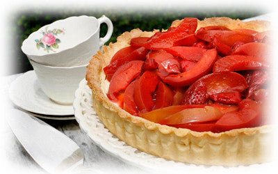 SHORT CRUST PASTRY - STRAWBERRY AND NECTARINE TART