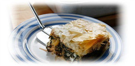 SILVERBEET AND CHEESE PIE