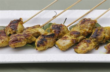 Skewered Vietnamese Chicken with Lime Leaf