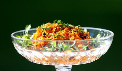 Sue's Carrot and Sesame Salad