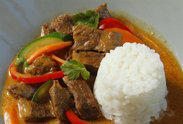 Thai-Style Beef Curry with Vegetables