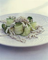 West Coast Whitebait with Zucchini Ribbons
