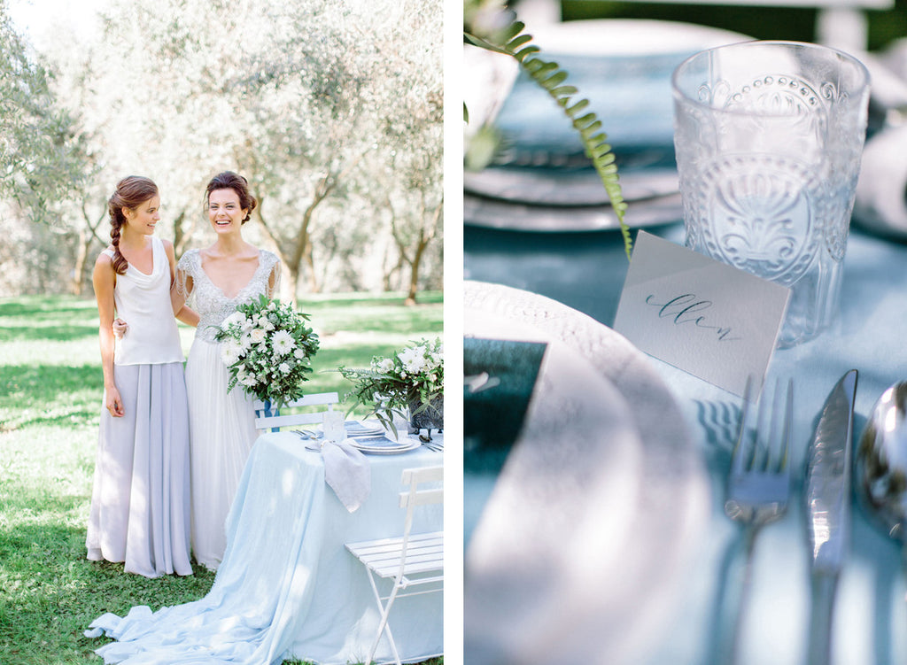 Olive Grove Styled Bridesmaid and Bride Shoot - Victor Bridesmaid Dresses. Quality bridesmaid dresses made in New Zealand