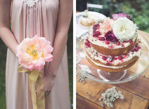 Blush and pastel shades - styled bridesmaid shoot. Victor bridesmaid Made in New Zealand
