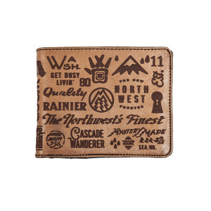 Mystery Made Leather Wallet