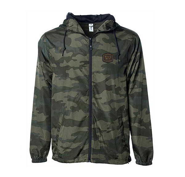 FOR NOW FOREVER CAMO WINDBREAKER