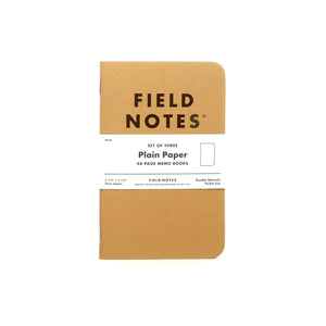 ORIGINAL KRAFT 3-PACKS - MEMO BOOKS