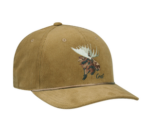 Wilderness Low Corduroy Animal Snapback Cap