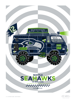 Seattle Seahawk® Gameday Posters