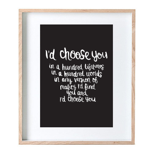 Choose You Print