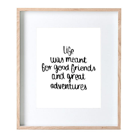Great Adventures Print