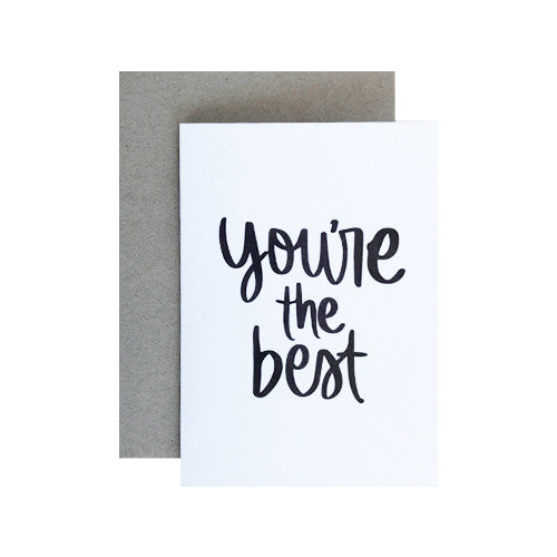 Mothers day greeting cards salty atlas youre the best greeting card m4hsunfo Image collections